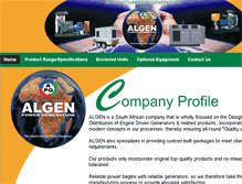 Tablet Preview of algenpower.co.za